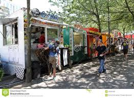 Portland Food Carts Map by Food Trucks Portland Oregon Editorial Stock Photo Image 33352398