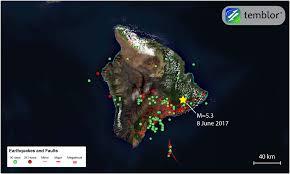 Hawaii Island Map M U003d5 3 Earthquake Shakes Hawaii U0027s Big Island Temblor Net