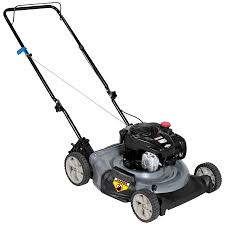 craftsman 140cc low wheel push mower easy mowing with sears