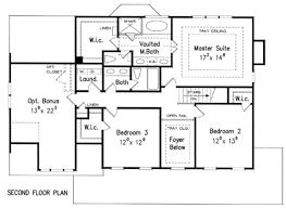 Second Floor Plans Art Herman Builders Development Floor Plans