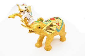 Wedding Gift Gold Aliexpress Com Buy Qifu Indian Wedding Return Gift Gold Elephant