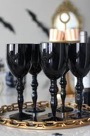 halloween barware a hauntingly beautiful halloween bash the house of silver lining