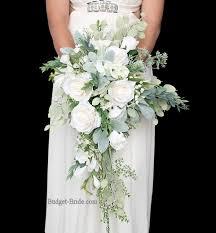 white bouquet all white wedding flowers wedding corners