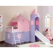Pink Bunk  Loft Beds Youll Love Wayfair - Pink bunk bed