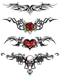 lower back tribal tattoos needs a illustration