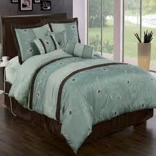 Tiffany Blue And White Bedroom Bedroom Design Tiffany Blue Brown Bedding Set Floral Pattern
