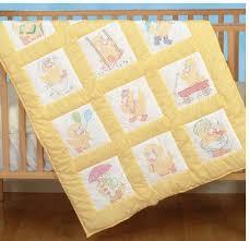 Duvet For Babies Quilt Squares Embroidery Patterns U0026 Kits 123stitch Com