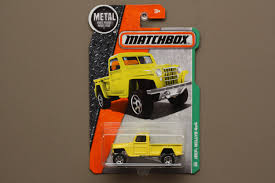 matchbox jeep 2016 matchbox 2016 mbx explorers jeep willys 4x4 yellow
