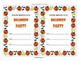 free printable halloween birthday invitations u2013 fun for christmas
