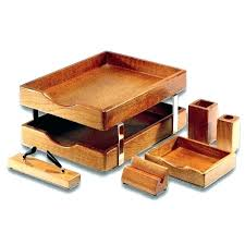 Office Accessories For Desk Wood Office Accessories Neodaq Info