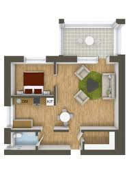 Home Floorplans 40 More 1 Bedroom Home Floor Plans