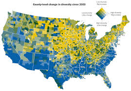 2000 Election Map Interactive Map Us Election Increasing Diversity Cdoovision Com