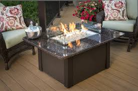 patio furniture set with fire pit table luxury outdoor patio