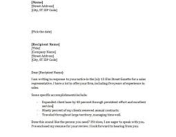 simple resume cover letters