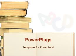 books template powerpoint book powerpoint template template design