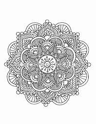 Coloring Pages Henna Art | mandala coloring page mehndi henna printable pdf by katie n dunphy