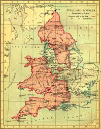 Wessex England Map by Map Of England And Wales During The English Civil War 1643