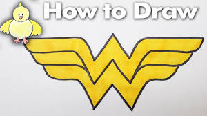 how to draw thanksgiving drawing how to draw the wonder woman logo step by step easy