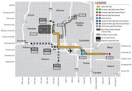 Phoenix Road Map by Providing Public Transportation Alternatives For The Greater