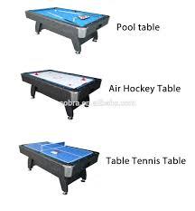 3 in 1 air hockey table kbl 7901f 3 in 1 pool table air hockey table tennis table buy pool