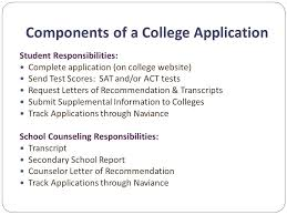 get ready for college applications ppt video online download