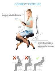 Ergonomic Desk Position Adjustable Ergonomic Kneeling Chair Stretch Knee Yoga Posture Seat