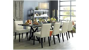 progressive furniture muses round dining table in dove grey rustic