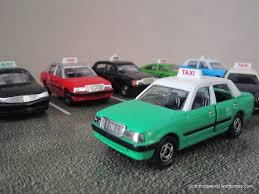 nissan cedric taxi taxi tomica world