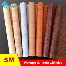 waterproof fabric wall stickers vinyl wallpaper furniture wood