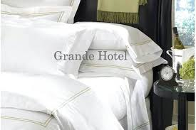 Hotel Collection Duvet Cover Set Luxury Hotel Collection 500 Thread Double Duvet Cover Set White