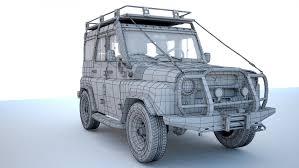 uaz hunter interior uaz hunter 3d model in suv 3dexport