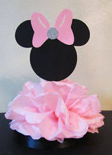 minnie mouse center pieces minnie mouse birthday table decoration