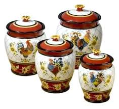 rooster kitchen canister sets rooster decor for kitchen and rooster kitchen decor rooster