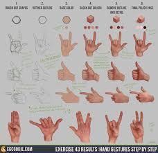 hand gestures cg cookie