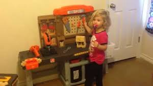 Kids Tool Bench Home Depot Step2 Home Depot Pro Play Workshop U0026 Utility Bench Review Youtube