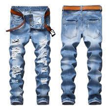 mens light blue jeans skinny mens destroyed jeans ebay