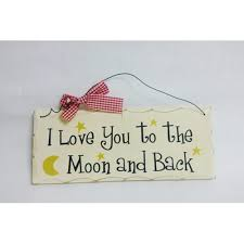 love you to the moon and back wall decorations valentine u0027s day wikii