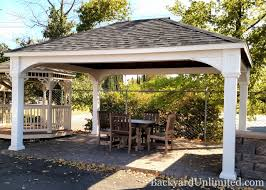 14x14 Outdoor Gazebo by Pavilions Traditional Backyard Unlimited