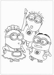 neoteric design despicable coloring pages printable print