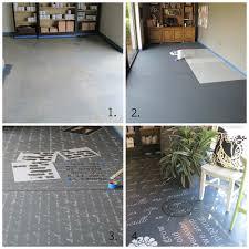 floor paint how to transform floors using chalk paint unfolded