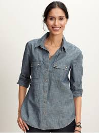 chambray blouse basically obsessed with chambray shirts office pretty
