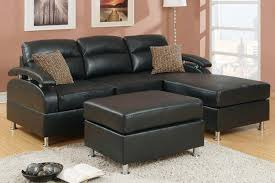 Brown Leather Sofa With Chaise Black Chaise Lounge Style Awesome Homes