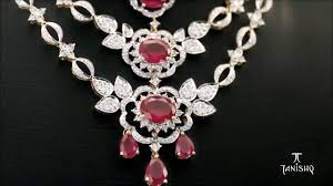 diamond necklace collection images Tanishq queen of hearts diamond jewellery collection jpg