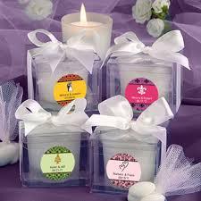 personalized candle favors personalized candle favors unique favors