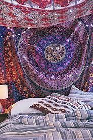 amazon com handmade mandala hippie tapestry bedspread comforter
