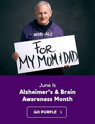 purple pictures alzheimer s brain awareness month alzheimer s association