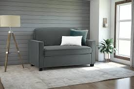 signature sleep mattresses casey velvet twin size sleeper sofa