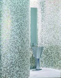 Grey Mosaic Bathroom Grey Mosaic Bathroom Grey Mosaic Tile Used From Floor To C U2026 Flickr