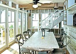 coastal dining room table coastal dining table birds nest chandelier coastal dining room table