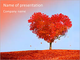 love tree powerpoint template u0026 backgrounds id 0000007097